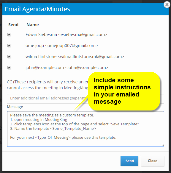 Minutes Of Meeting Email Best Of Email Template Meeting Agenda & Meeting Minutes software
