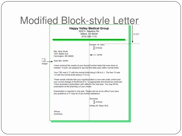 Modified Block Letter format Awesome K Interpersonal Munication