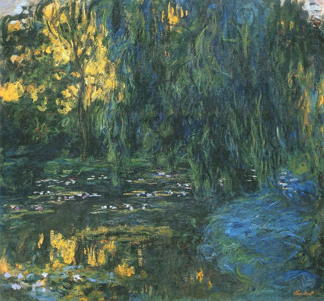 Monet Images Of Paintings Awesome File Claude Monet Water Lily Pond and Weeping Willow Jpg