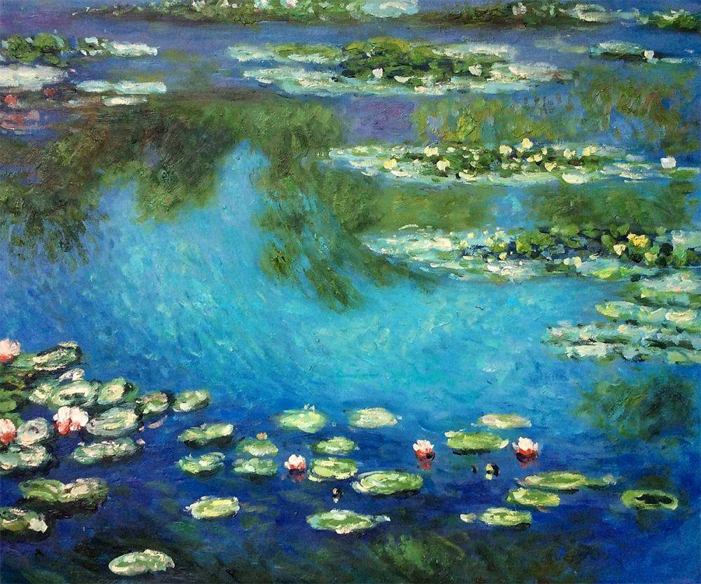 Monet Images Of Paintings Awesome Water Lilies Claude Monet Oil Painting Reproduction