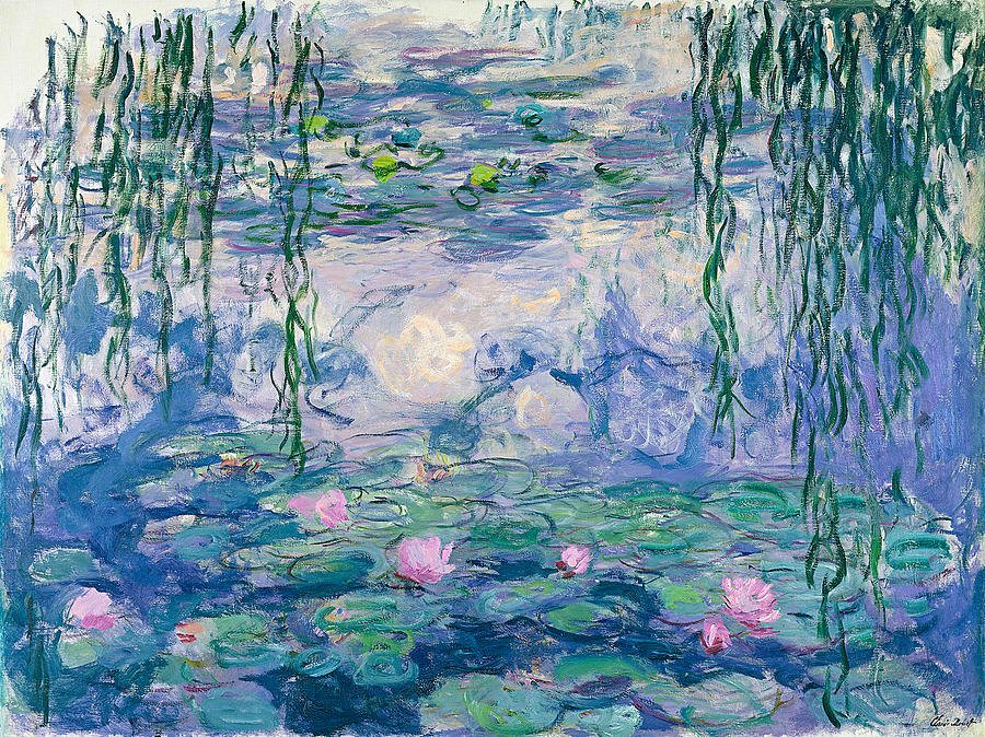 Monet Images Of Paintings Awesome Water Lilies Painting by Claude Monet