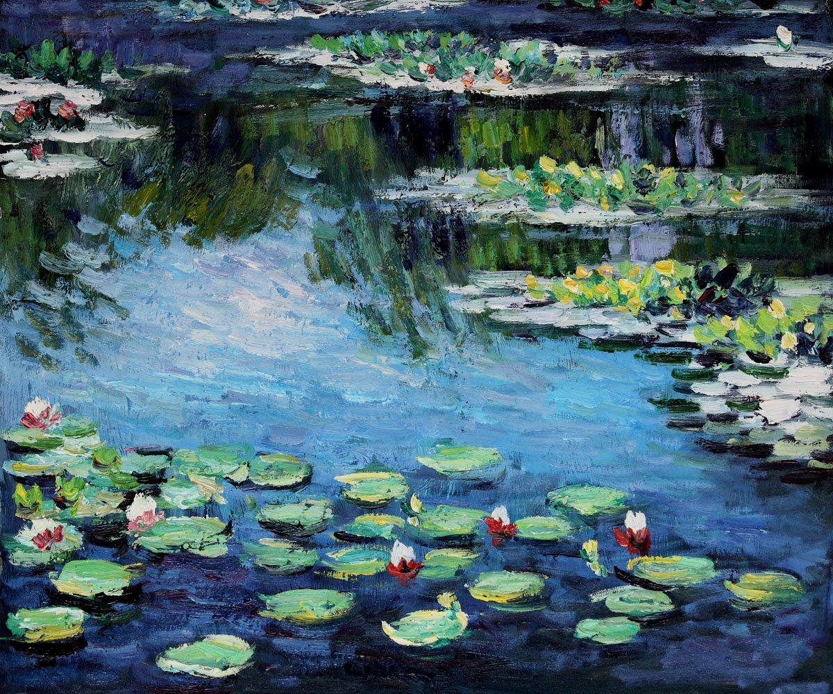 Monet Images Of Paintings Beautiful [47 ] Monet Water Lilies Wallpaper On Wallpapersafari