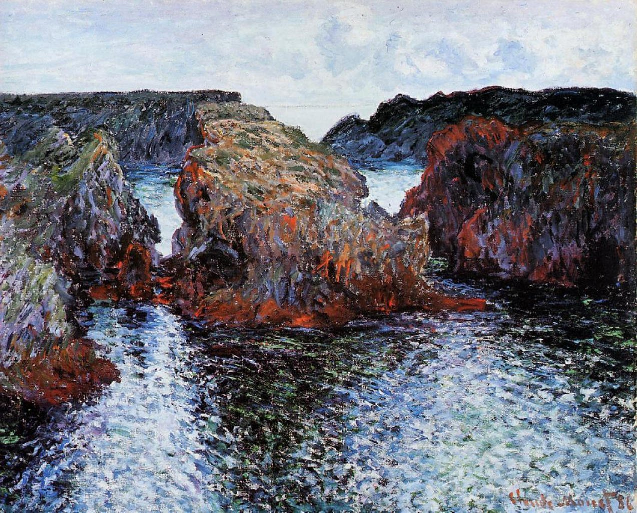 Monet Images Of Paintings Fresh Art History News Claude Monet and Ellsworth Kelly at the