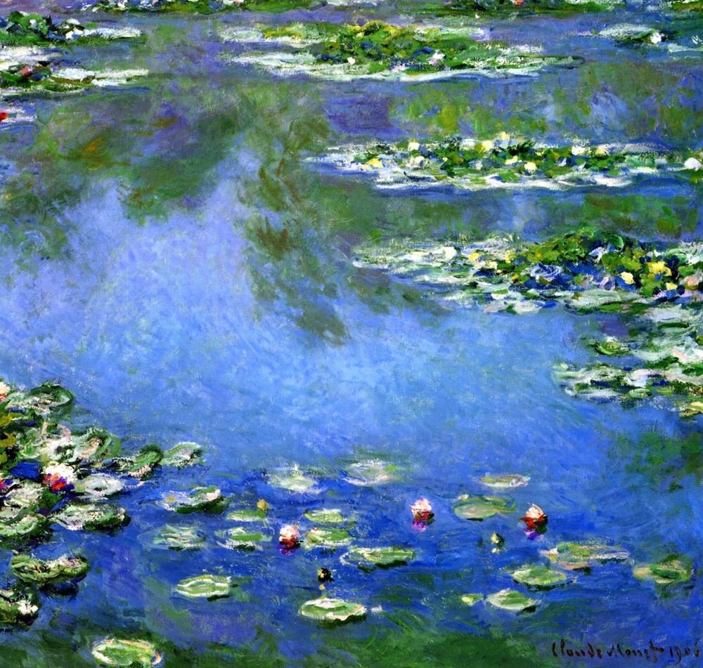 Monet Images Of Paintings Inspirational Water Lilies by Claude Monet Giclee Fine Art Print