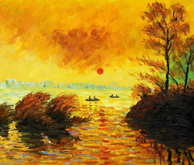 Monet Images Of Paintings Luxury 20 Famous Monet Paintings and Landscape Artworks
