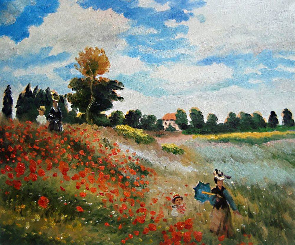 Monet Images Of Paintings Luxury Poppy Field In Argenteuil Claude Monet