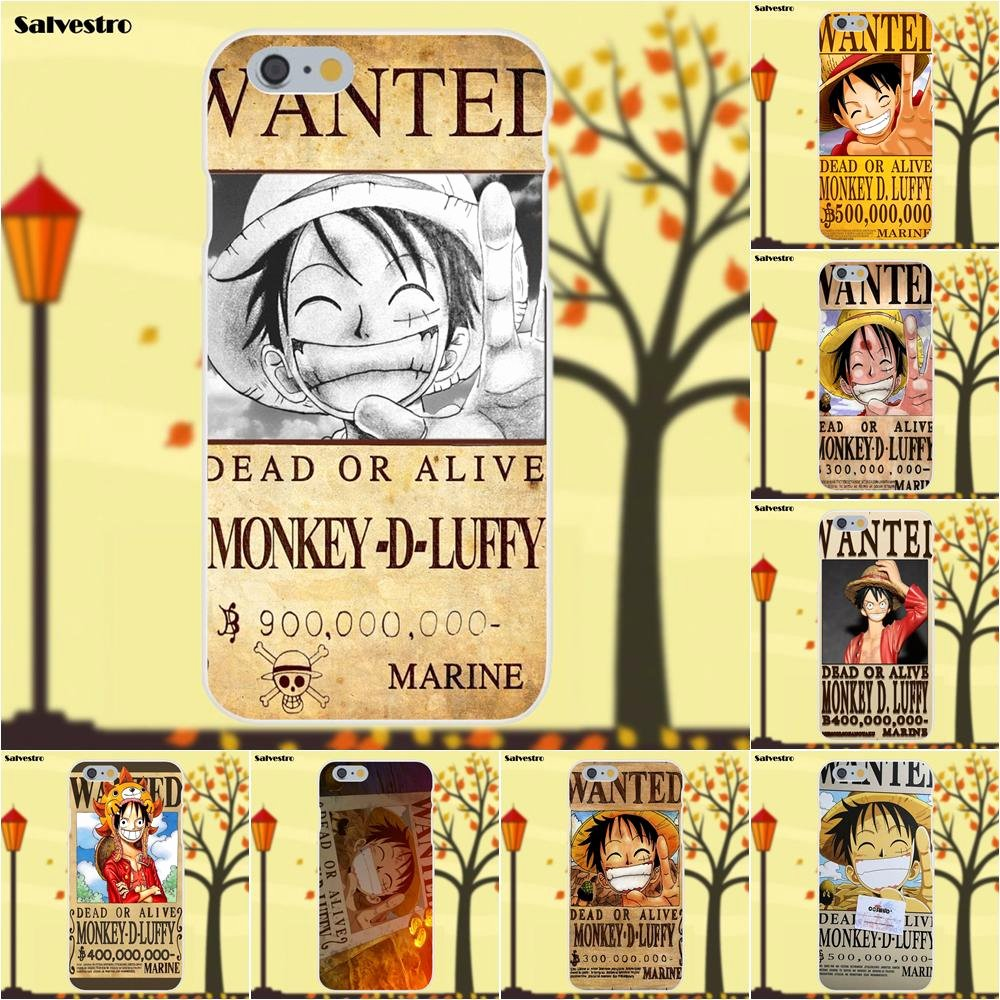 Monkey D Luffy Wanted Poster Best Of E Piece Monkey D Luffy Wanted Poster for Apple iPhone X