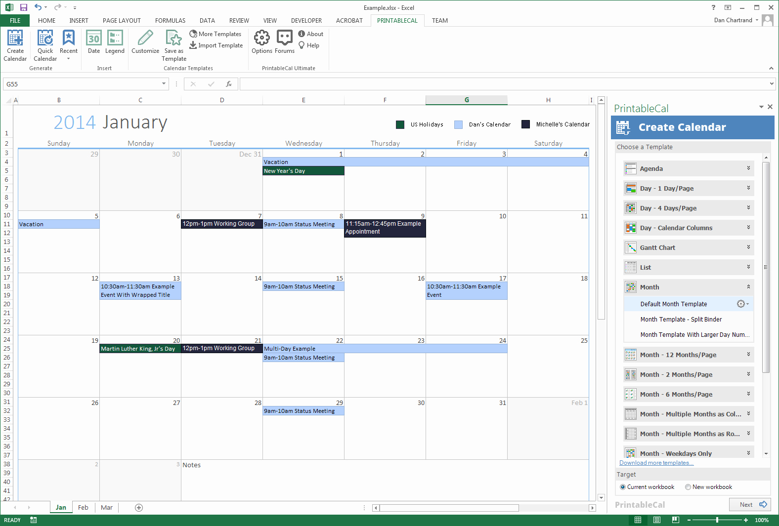 Monthly event Calendar Template Best Of Generate Printable Calendars Using A Month Template