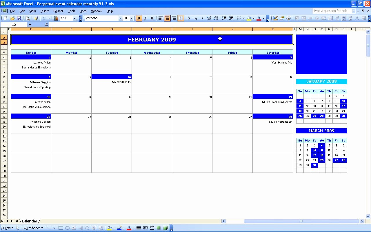 Monthly event Calendar Template Best Of Monthly event Calendar Template – Printable Month Calendar