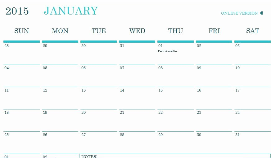 Monthly event Calendar Template Elegant Monthly Munity event Planner Template