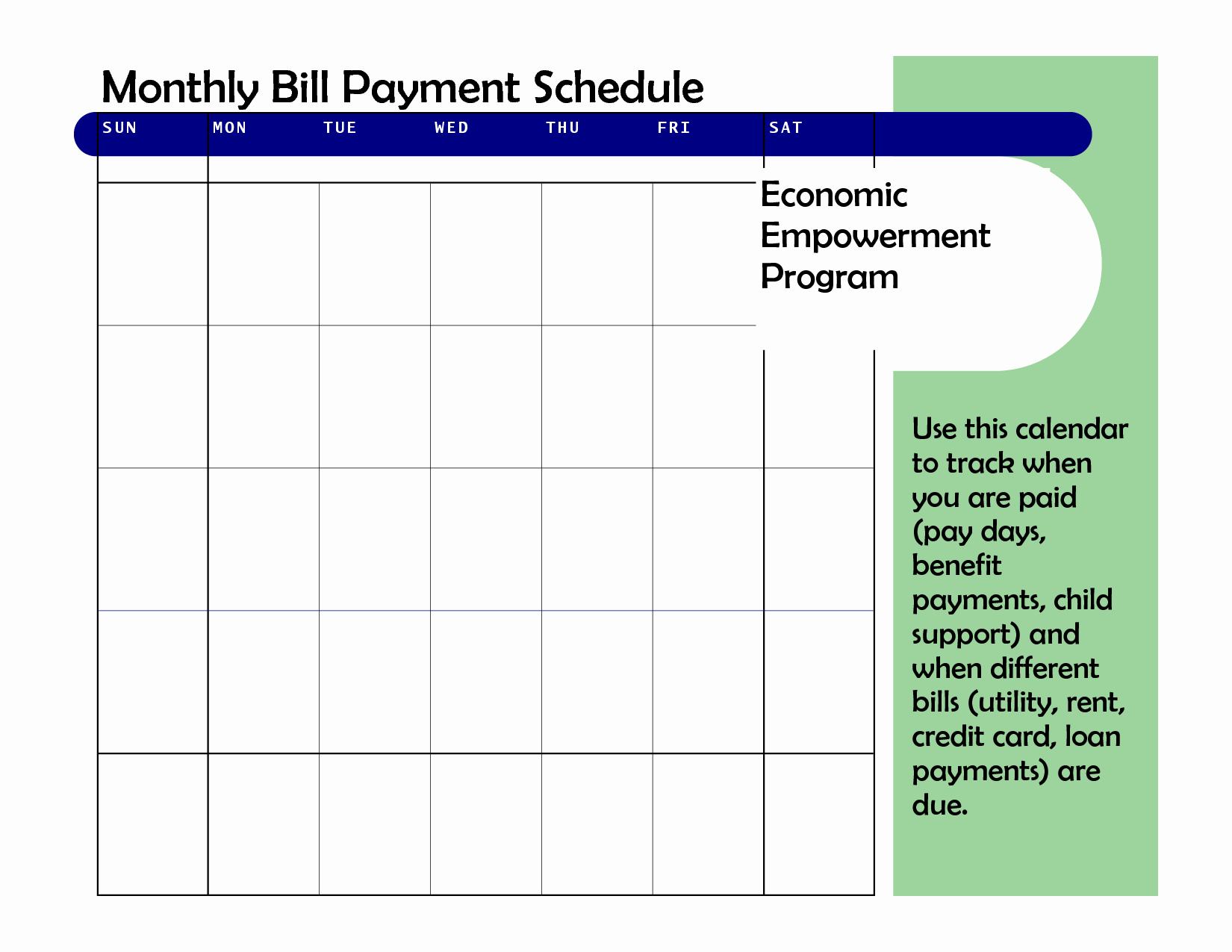 Monthly Payment Plan Template Beautiful Monthly Based Bill Payment Schedule Template Vatansun