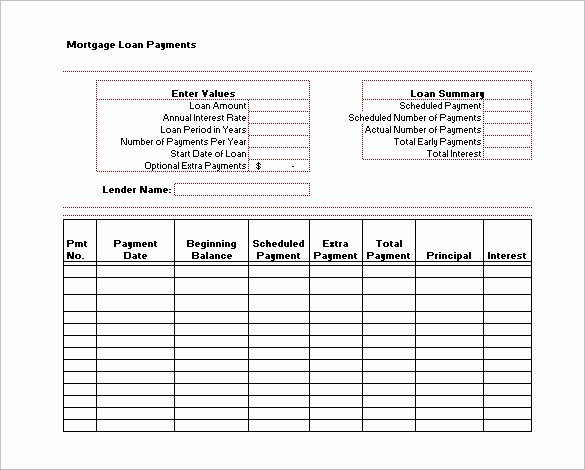 Monthly Payment Plan Template Best Of 28 Payment Schedule Templates Word Excel Pdf