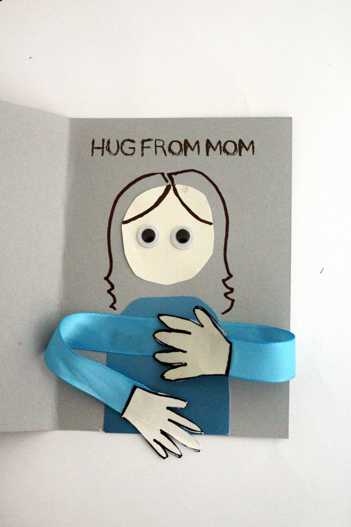 Mothers Day Card Template Awesome Make A Huggy Mother S Day Card Craft Moms and Crafters