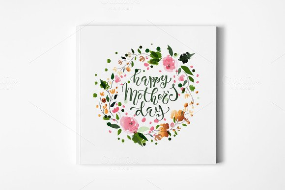 Mothers Day Card Template Unique Happy Mother S Day Card Template Card Templates On