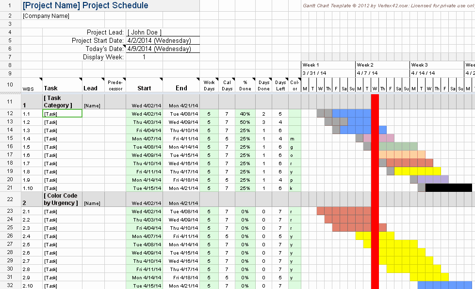 Ms Excel Chart Templates Elegant Gantt Chart for Google Sheets Kid Chart Ideas
