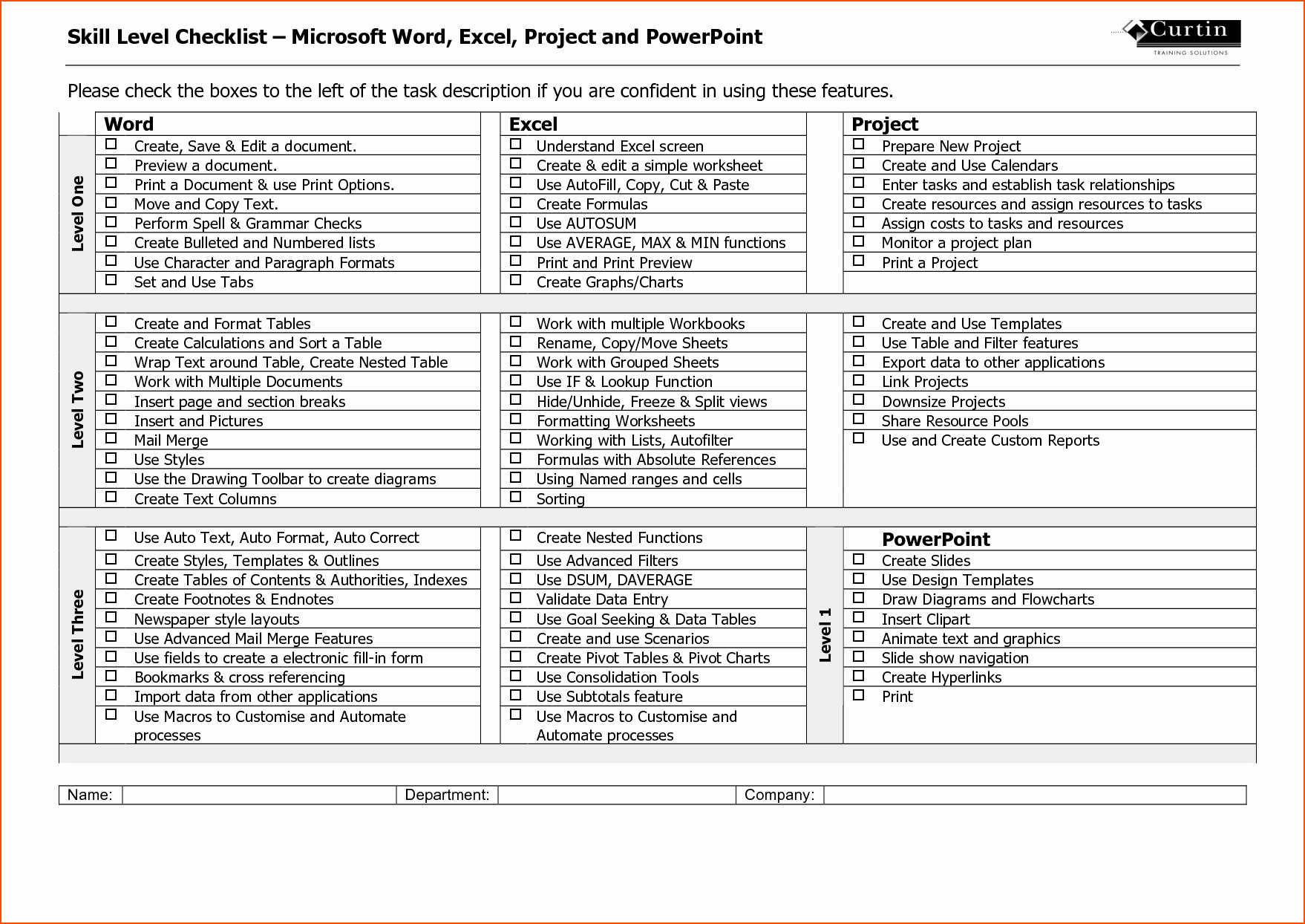 Ms Word Check Template Inspirational 7 Microsoft Word Checklist Template Bookletemplate