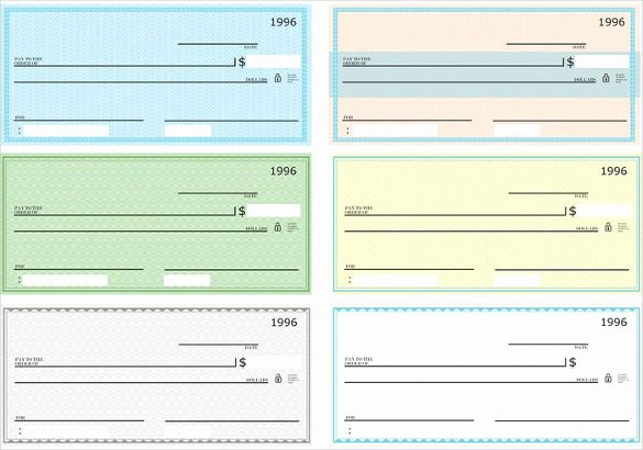 Ms Word Check Template New 7 Blank Check Templates for Microsoft Word Website