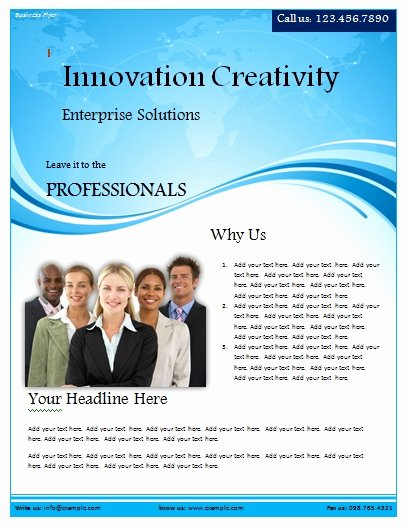 Ms Word Flyer Templates Free Inspirational Free Flyer Templates Word