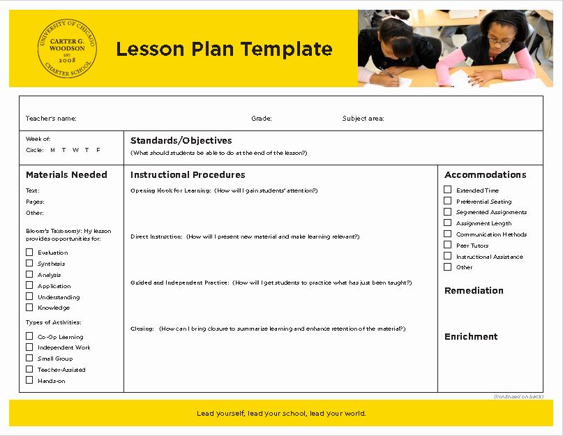 Ms Word Lesson Plan Elegant 39 Free Lesson Plan Templates Ms Word and Pdfs