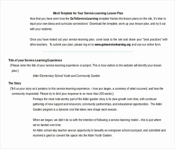 Ms Word Lesson Plan New 18 Microsoft Word Lesson Plan Templates