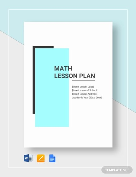 Ms Word Lesson Plan Unique Free Daily Lesson Plan Template Download 230 Plans In