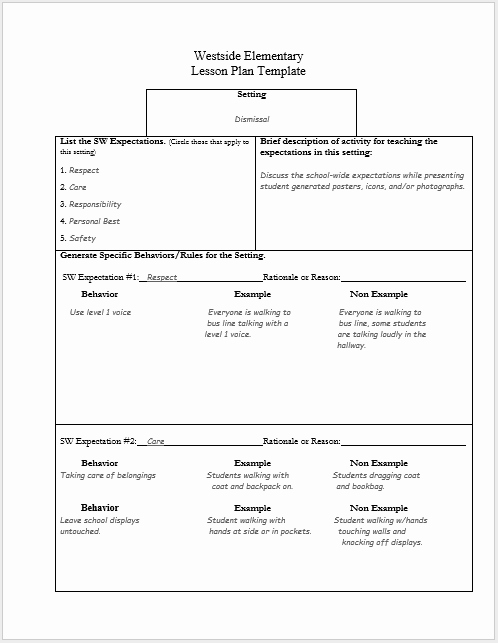 Ms Word Lesson Plans Inspirational 39 Free Lesson Plan Templates Ms Word and Pdfs