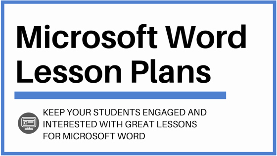 Ms Word Lesson Plans Luxury Microsoft Word Lesson Plans and Activities to Wow Your