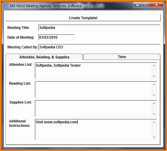 Ms Word Meeting Agenda Template Elegant Meeting Agenda Template Word