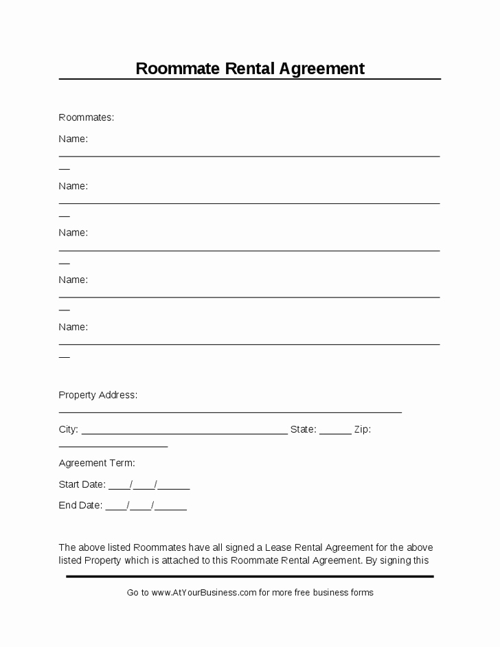 Ms Word Rental Agreement Template Fresh Room Rental Agreement Template