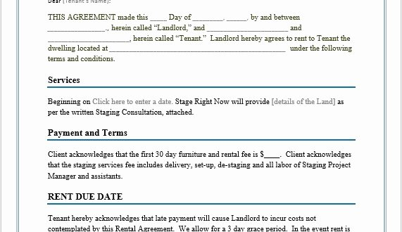 Ms Word Rental Agreement Template Luxury Rental Agreement Template – Word Templates for Free Download