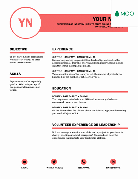 Ms Word Resume Examples Awesome 15 Jaw Dropping Microsoft Word Cv Templates Free to Download