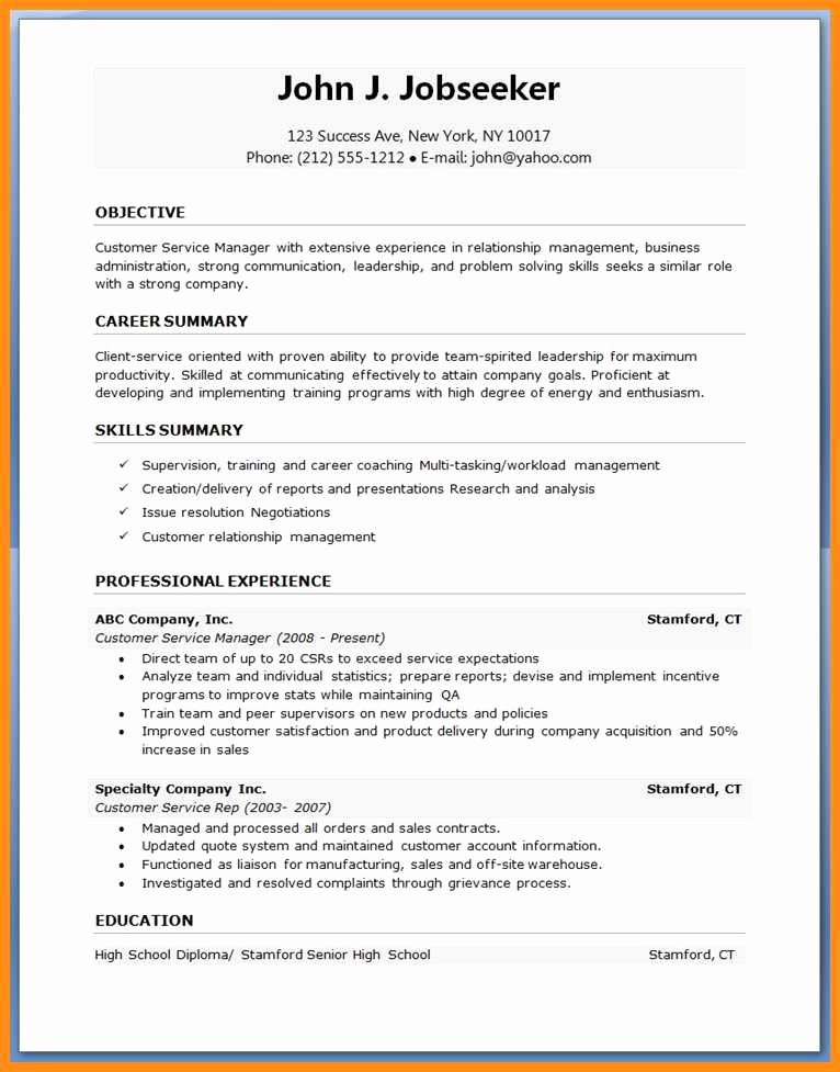 Ms Word Resume Examples Lovely Curriculum Vitae Template Free S Cv Templates