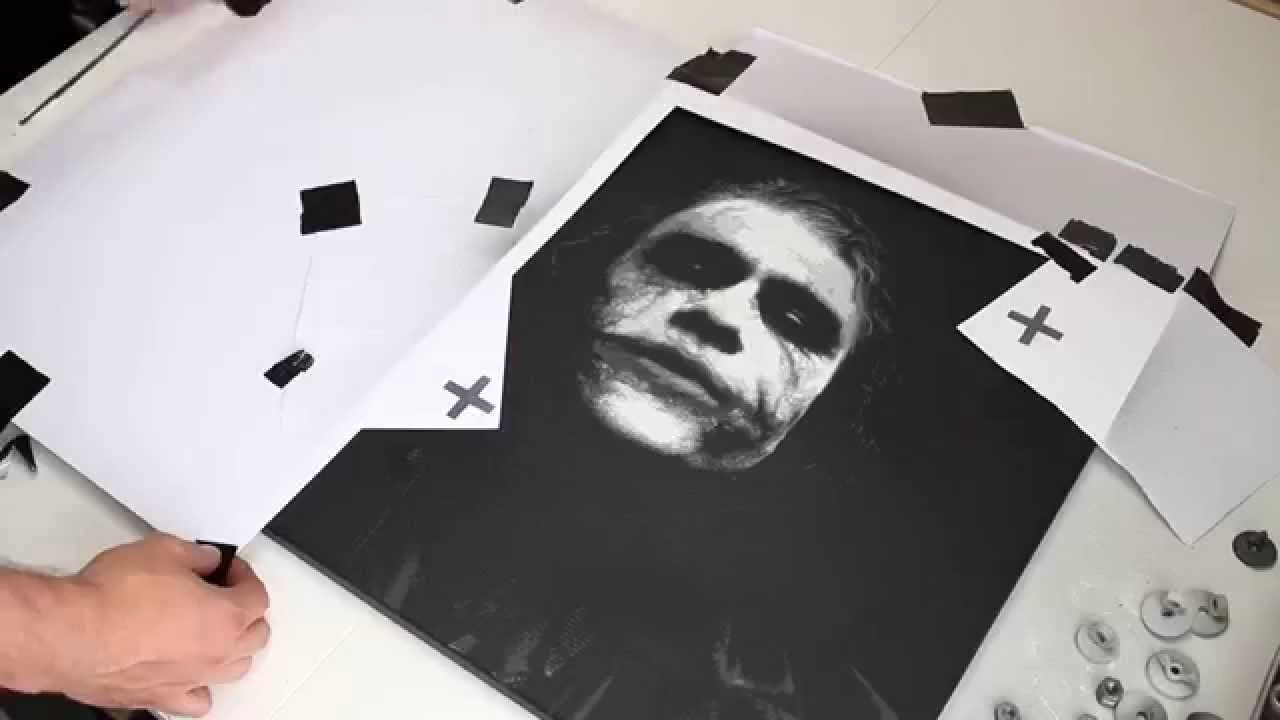 Multi Layer Stencil Art Beautiful Heath Ledger Joker Multi Layer Stencil Art