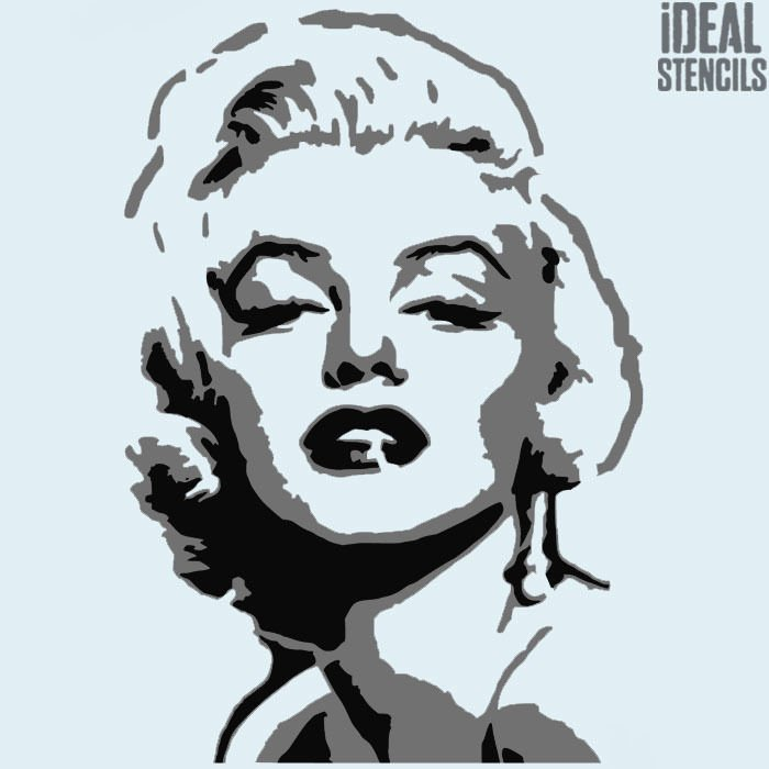 Multi Layer Stencil Art Beautiful Marilyn Monroe Multi Layer Stencil Art Home Decor Reusable