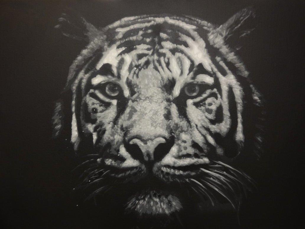 Multi Layer Stencil Art Inspirational Tiger Multi Layer Stencil by Cb Stencils On Deviantart