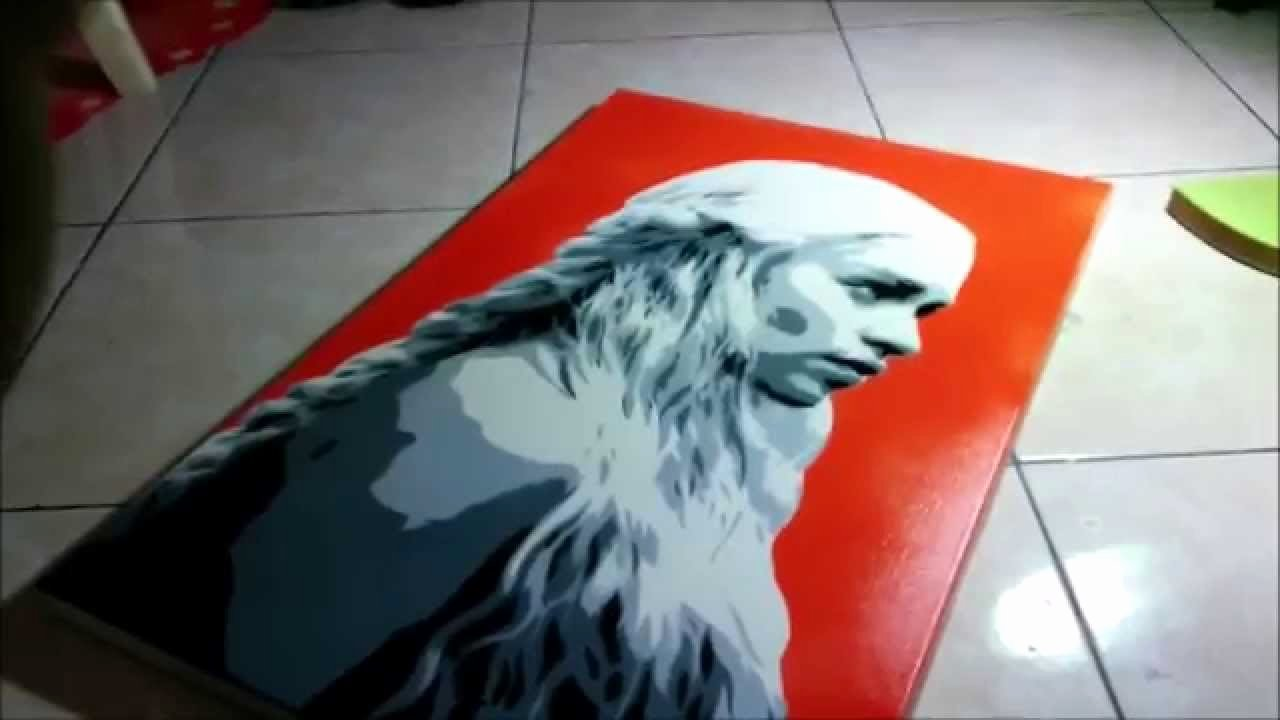 Multi Layer Stencil Art Luxury Multi Layer Stencil Khaleesi