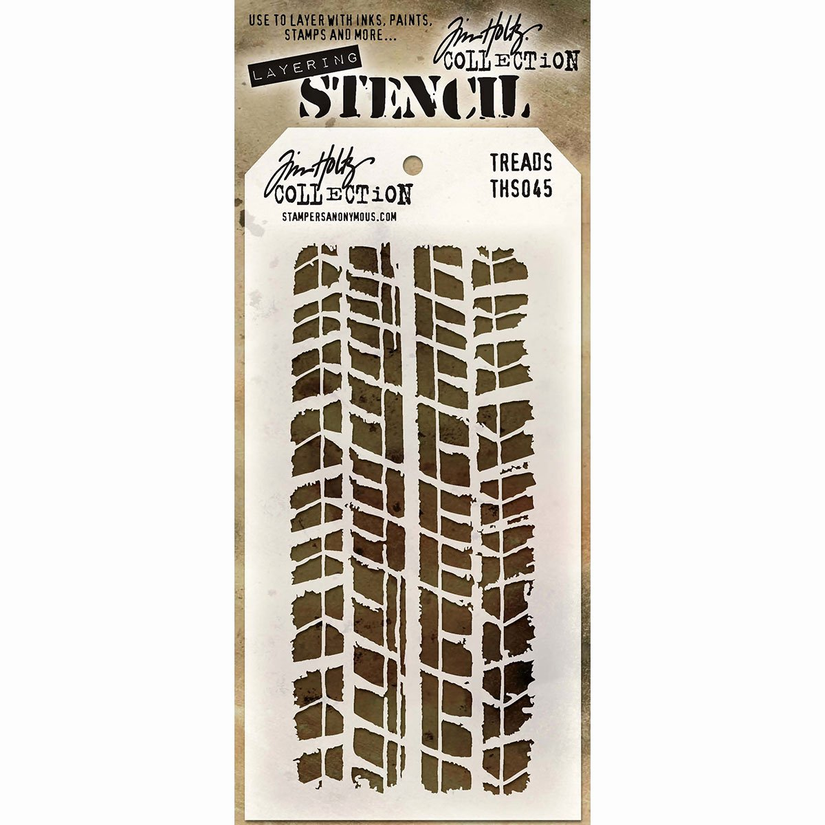 Multi Layer Stencils for Sale Awesome Tim Holtz Layering Stencil Treads Ths045 Stampers