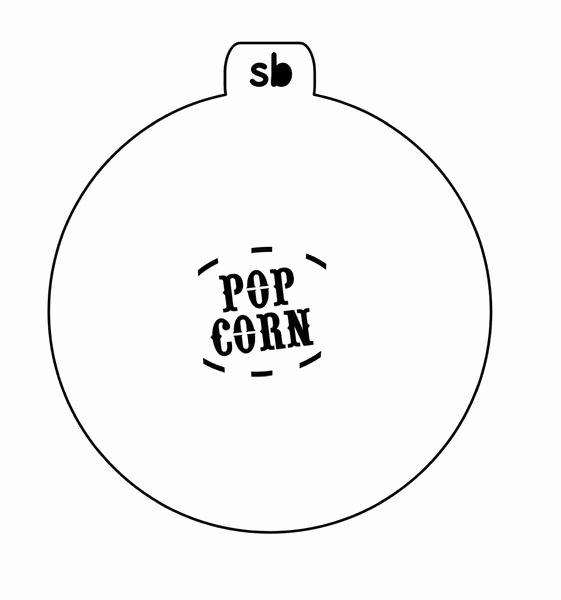 Multi Layer Stencils for Sale Fresh Popcorn Stencil 2 Piece Set – Stencibelle