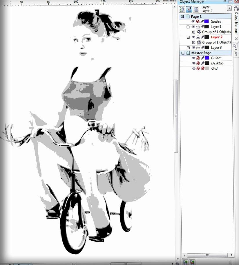 Multi Layered Airbrush Stencils Fresh How to Make Layered Stencil In Coreldraw