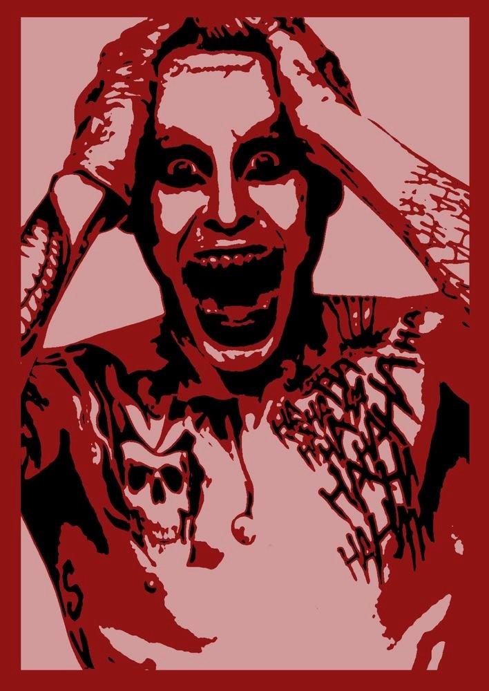 Multi Layered Airbrush Stencils Fresh Joker Stencil Multi Layer Stencil Scrapbooking Wall