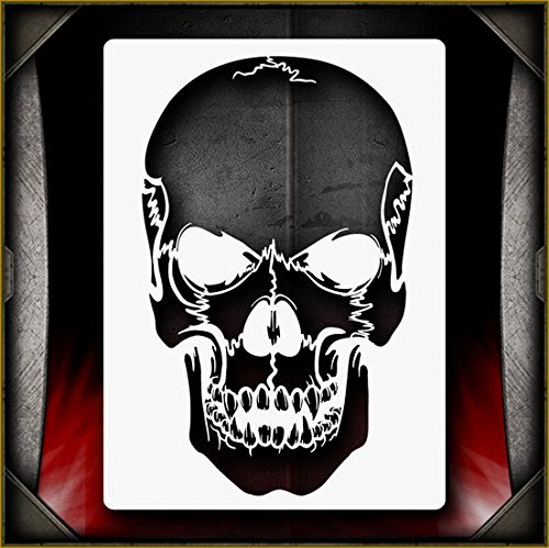 Multi Layered Airbrush Stencils Lovely Skull Airbrush Stencils Amazon