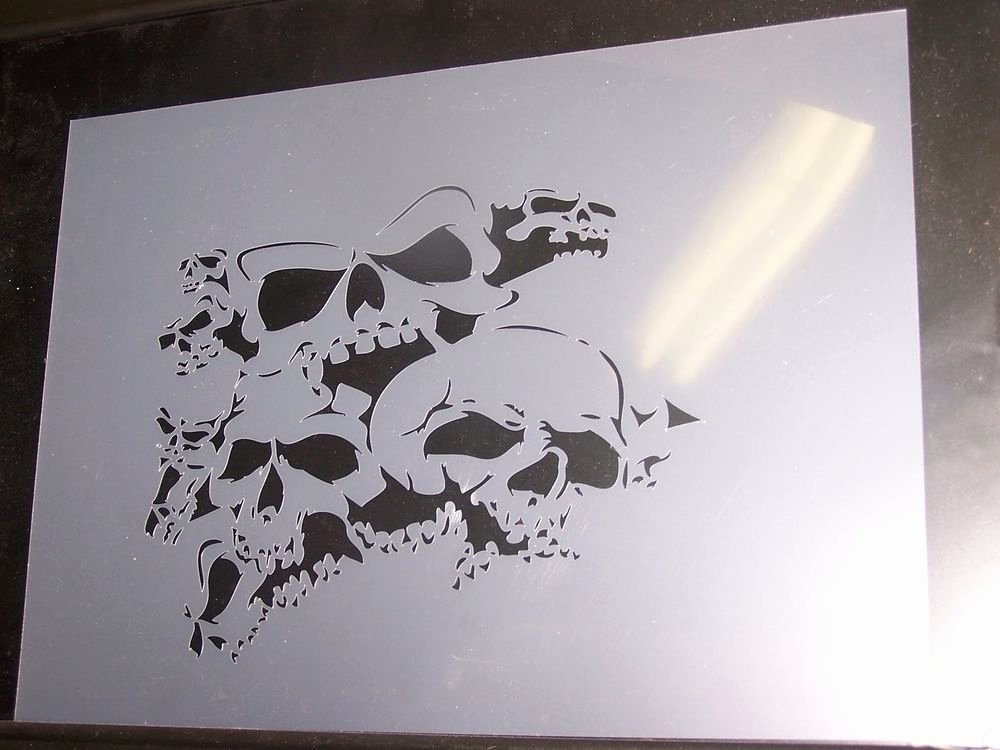 Multi Layered Airbrush Stencils Unique Multi Layer Stencil for Airbrush Roller Brush Wall Art