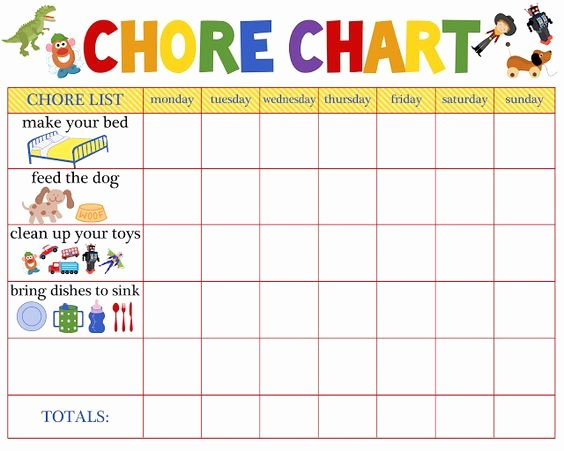 Multiple Child Chore Chart Beautiful Chore Charts for Multiple Children