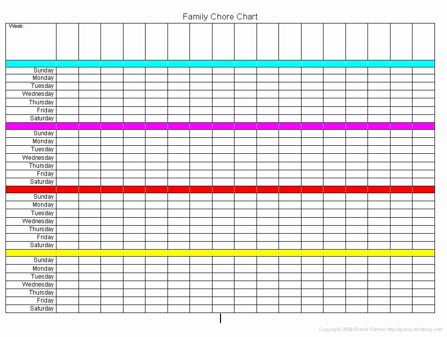Multiple Children Chore Chart Beautiful Chore Charts for Multiple Children organization