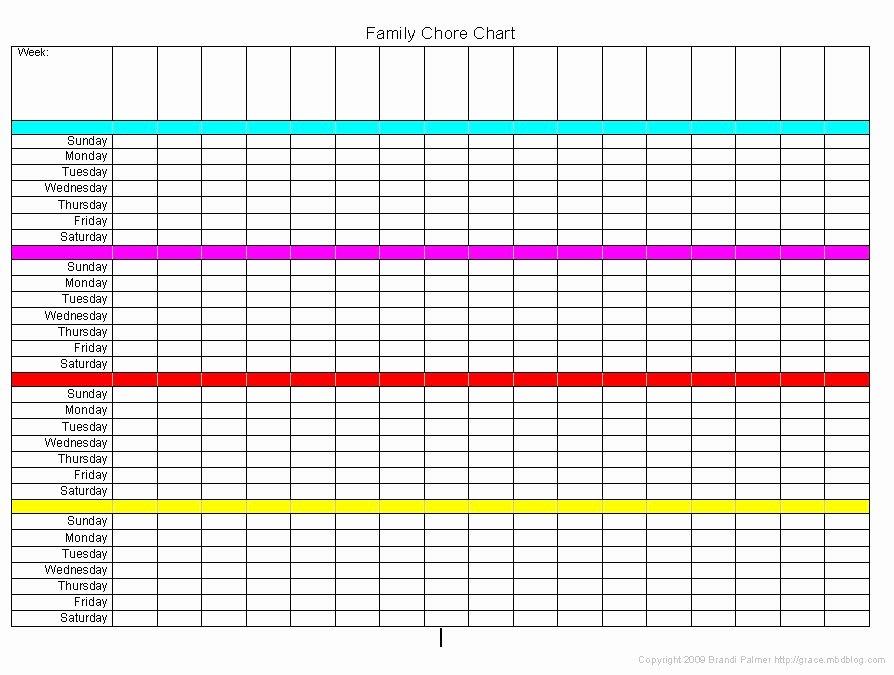 Multiple Children Chore Chart Beautiful Chore Charts for Multiple Children organization