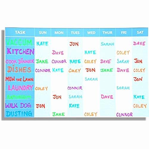 Multiple Children Chore Chart Elegant Chore Charts for Multiple Kids Amazon