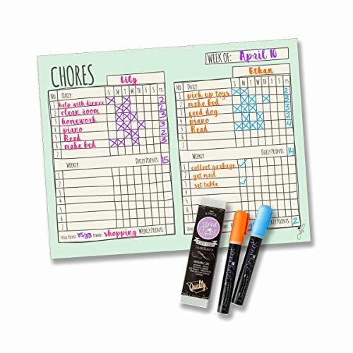 Multiple Children Chore Chart Luxury Children S Chore Chart Amazon