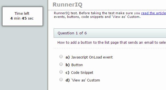 Multiple Choice Test Template Best Of Quiz Template for PHPrunner asprunnerpro asprunner Net