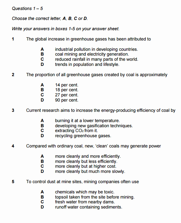 Multiple Choice Test Template Luxury Multiple Choice Questions In Ielts Reading Ielts Advantage