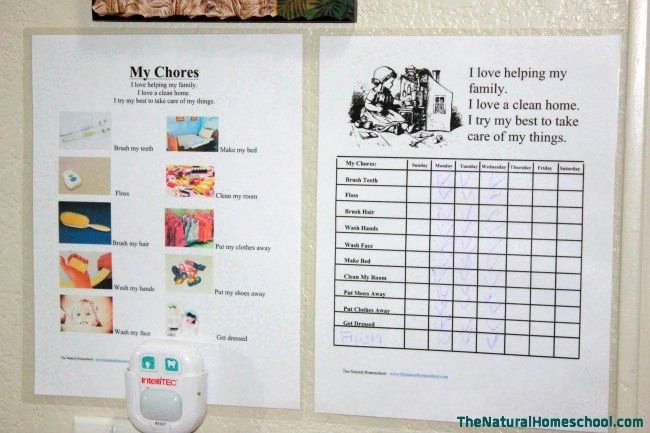 Multiple Kids Chore Chart Best Of 17 Best Images About Chore Charts On Pinterest